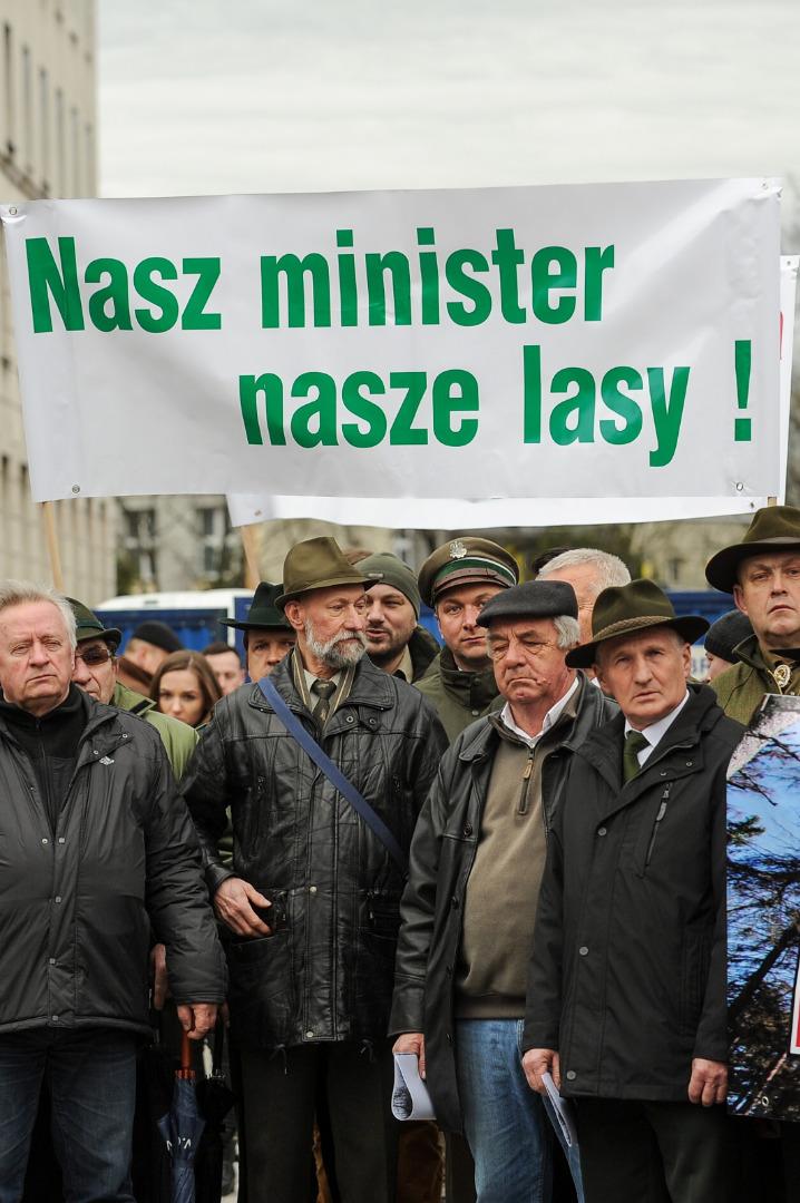 Leśnicy w obronie ministra Szyszki