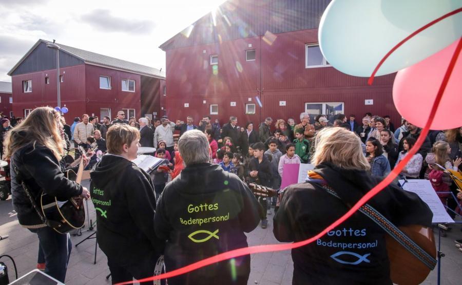 Ośrodek dla uchodźców w Niemczech