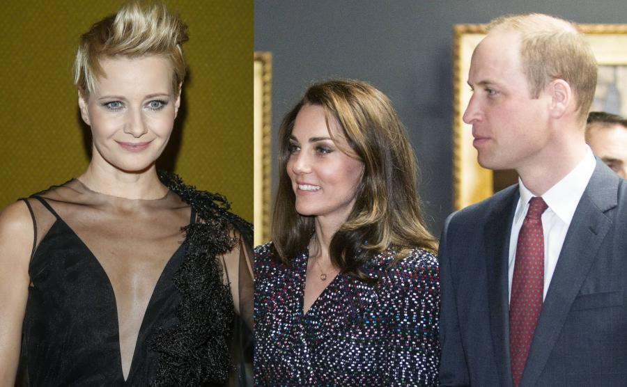 Małgorzata Kożuchowska, książę William i księżna Kate