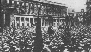 Wiec pierwszomajowy w Warszawie, 1925