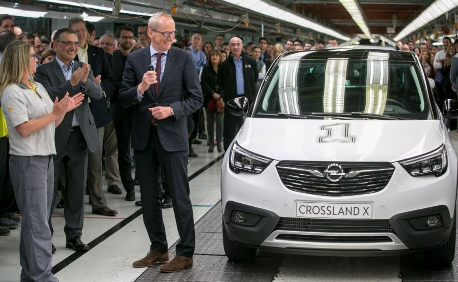 Opel crossland X dołączy do mokki X