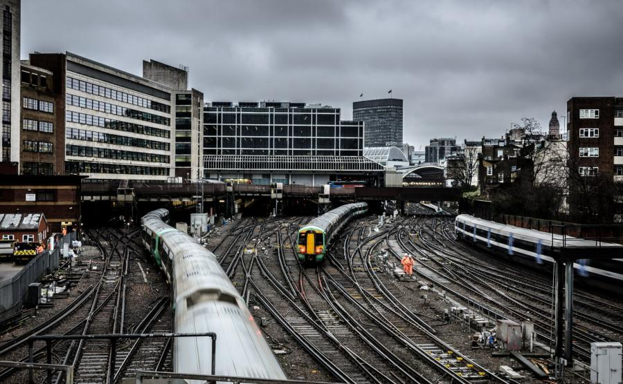 Victoria Station w Londynie