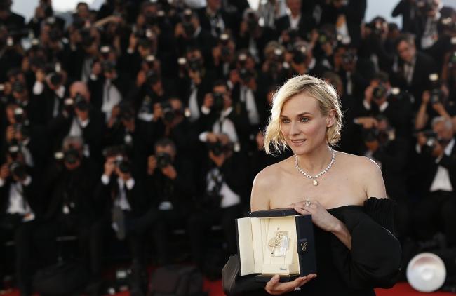 Diane Kruger z nagrodą w Cannes