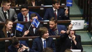 Uczestnicy XXIII sesji Sejmu Dzieci i Młodzieży