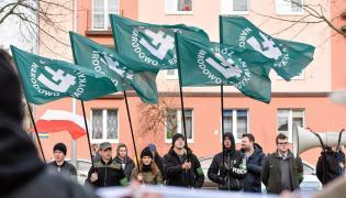 Manifestacja ONR w Częstochowie