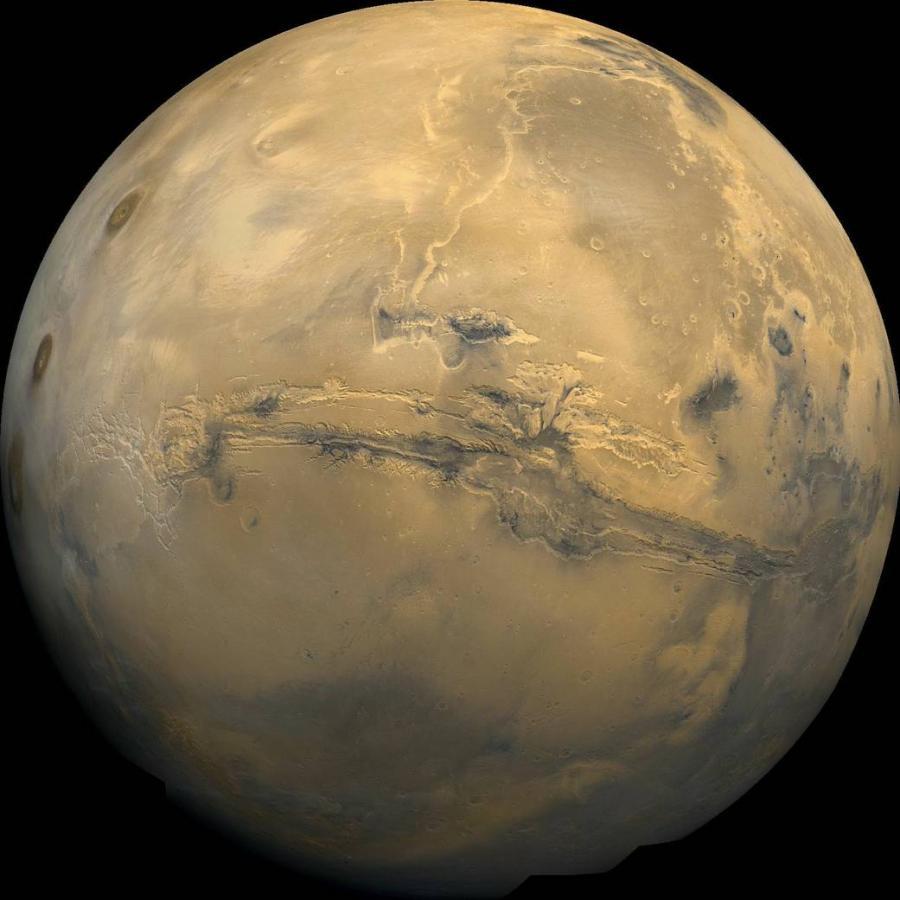 Valles Marineris (łac. Doliny Marinera) – złożony system kanionów na Marsie znajdujący się nieco na południe od równika, na wschód od Tharsis. Odkrycia Valles Marineris dokonał Mariner 9.