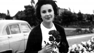 Tamara Miansarowa w Sopocie w 1963 roku.