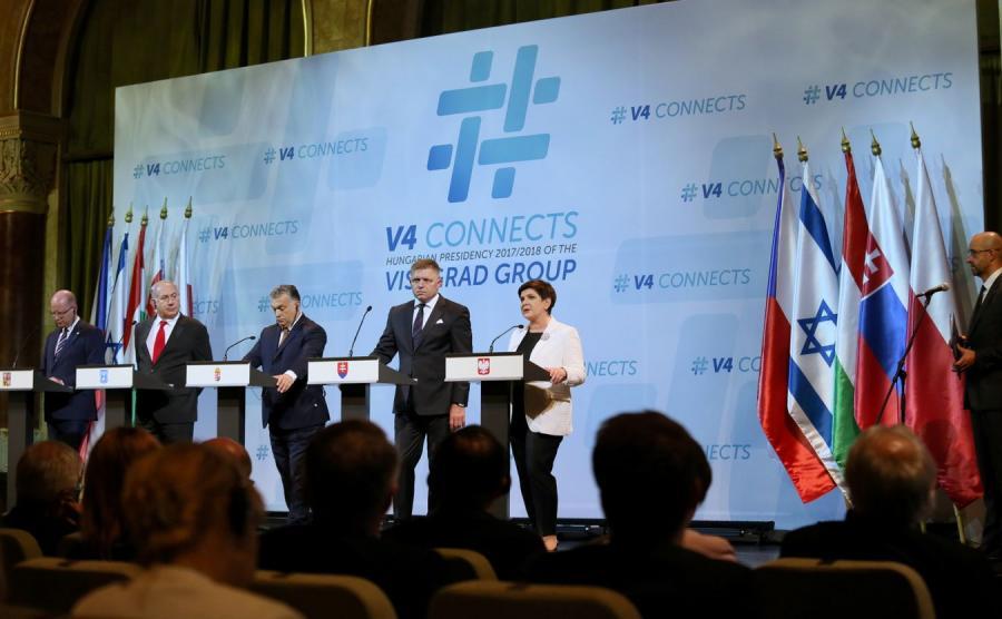 Spotkanie liderów państw Grupy Wyszehradzkiej