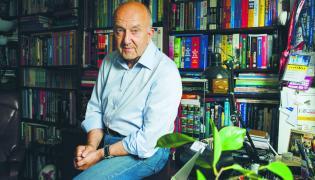 Stefan Szczepłek, fot. Darek Golik