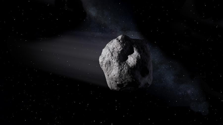 Asteroida zdjęcie ilustracyjne NASA