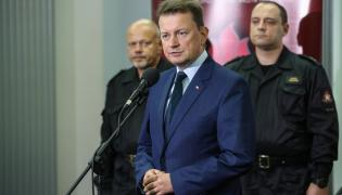 Minister Mariusz Błaszczak