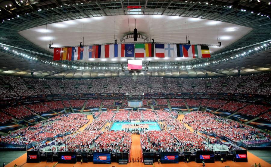 Mecz Polska-Serbia na Stadionie Narodowym