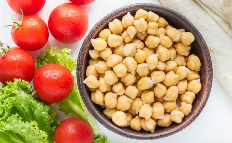 Ciecierzyca i pomidory