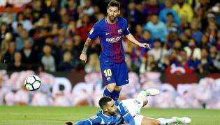 Leo Messi i Mario Hermoso