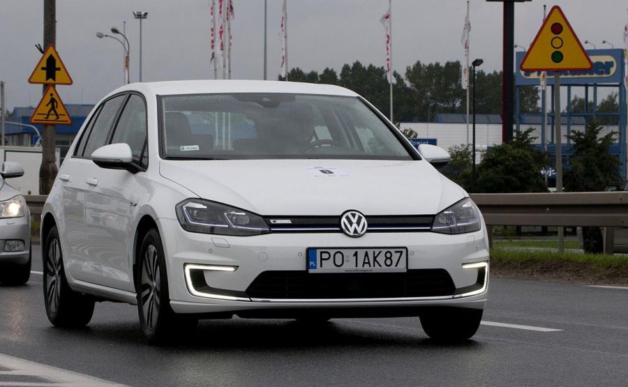 Volkswagen e-Golf najoszczędniejszym autem w Superteście Ekonomii