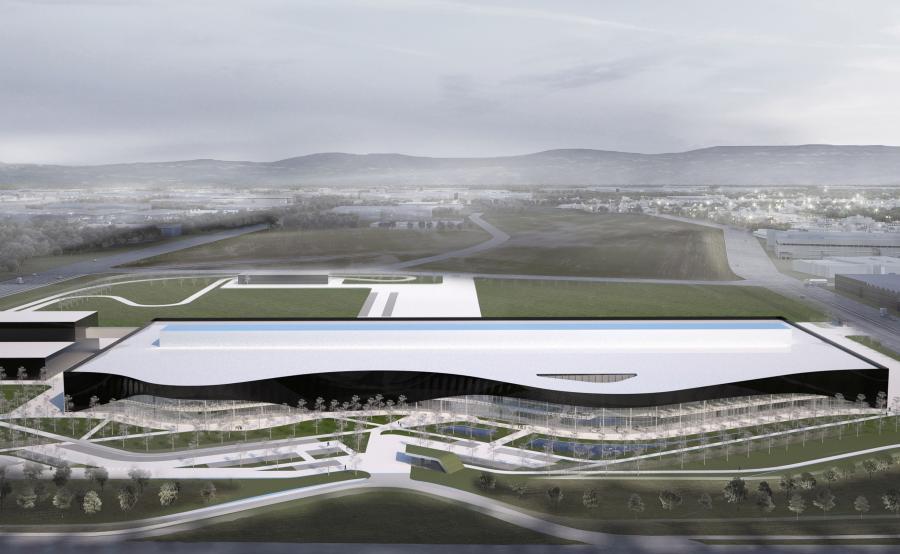 Nowe centrum produkcyjne będzie dysponowało również torem testowym, na którym klienci będą mogli testować auta