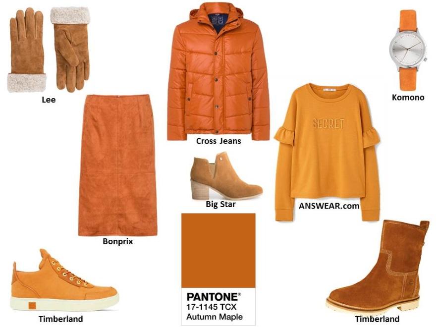 Kolory jesieni i zimy 2017 według Instytutu Pantone