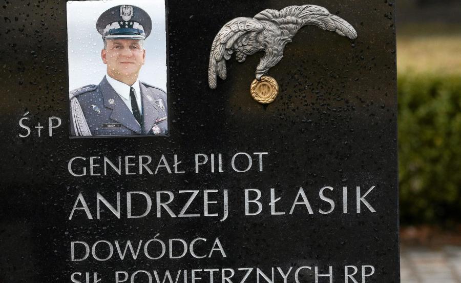 Nagrobek generała Andrzeja Błasika