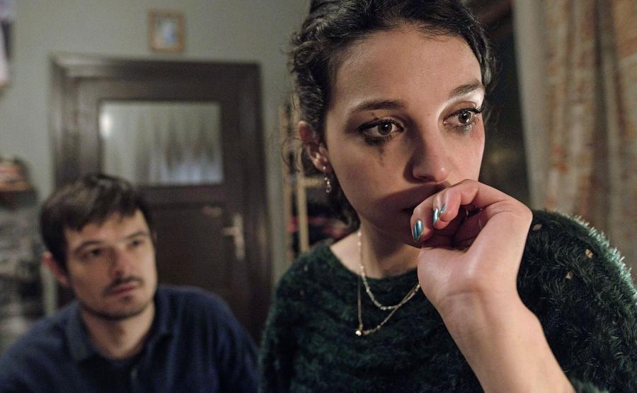 Maria Dębska i Dawid Ogrodnik