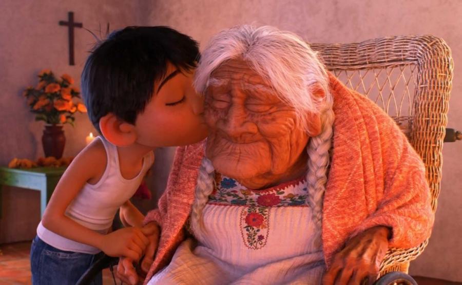 Miguel i prababcia Coco