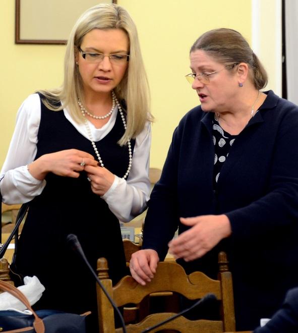 Małgorzata Wassermann i Krystyna Pawłowicz