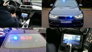 Radiowóz BMW przekazany policji w Sokółce