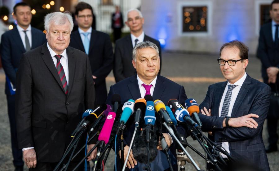 Viktor Orban na zjeździe CSU