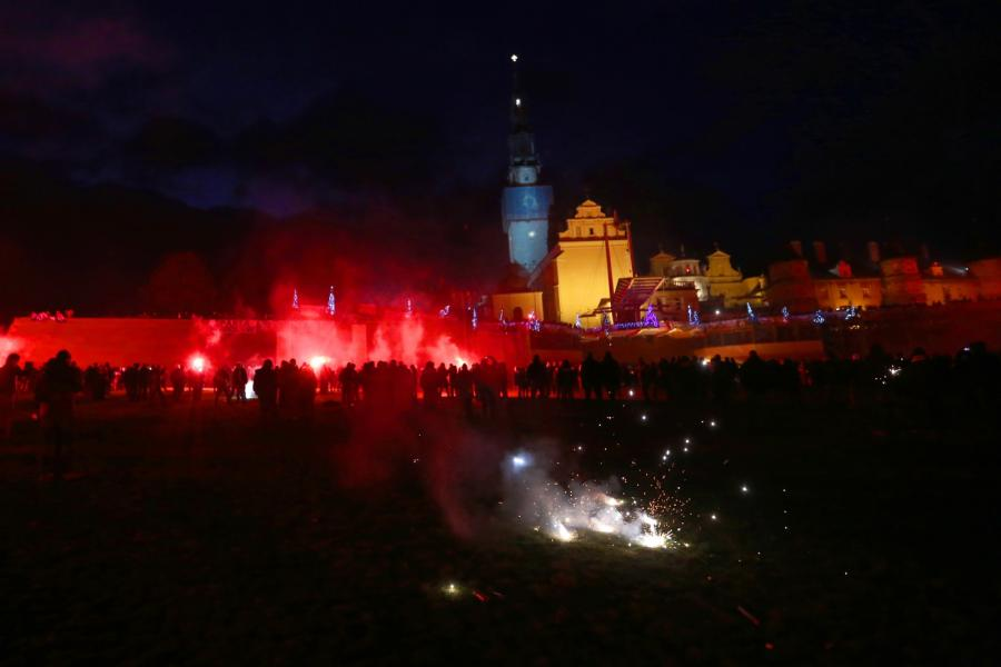 Do Częstochowy przybyła X Ogólnopolska Pielgrzymka Kibiców
