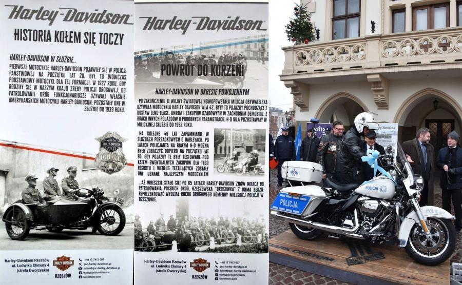 Harley-Davidson po 65 latach wraca do polskiej policji