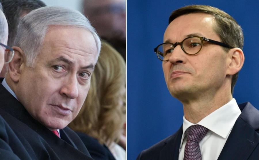 Benjamin Netanjahu, Mateusz Morawiecki