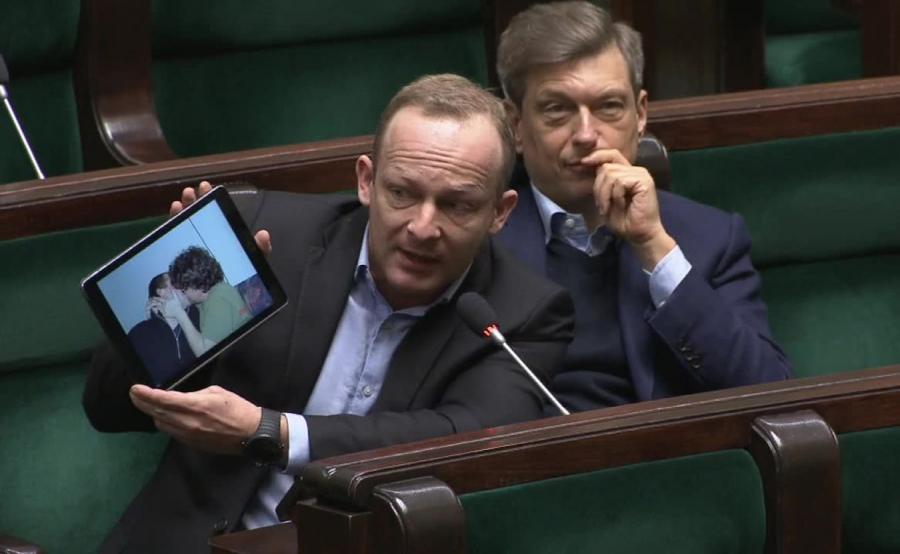 Paweł Olszewski w Sejmie