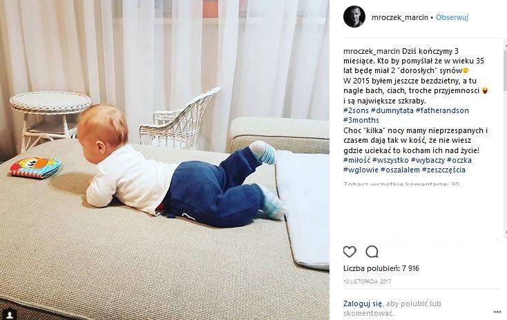 syn Marcina Mroczka
