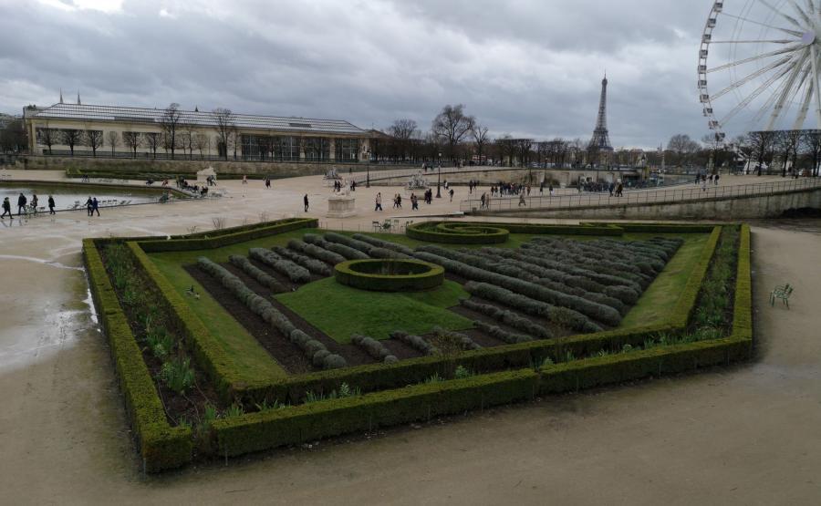 Ogrody Tuileries, P20 Pro