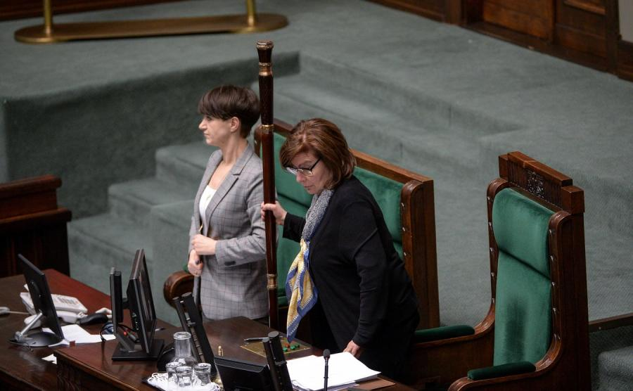 Wicemarszałek Sejmu Małgorzata Kidawa-Błońska