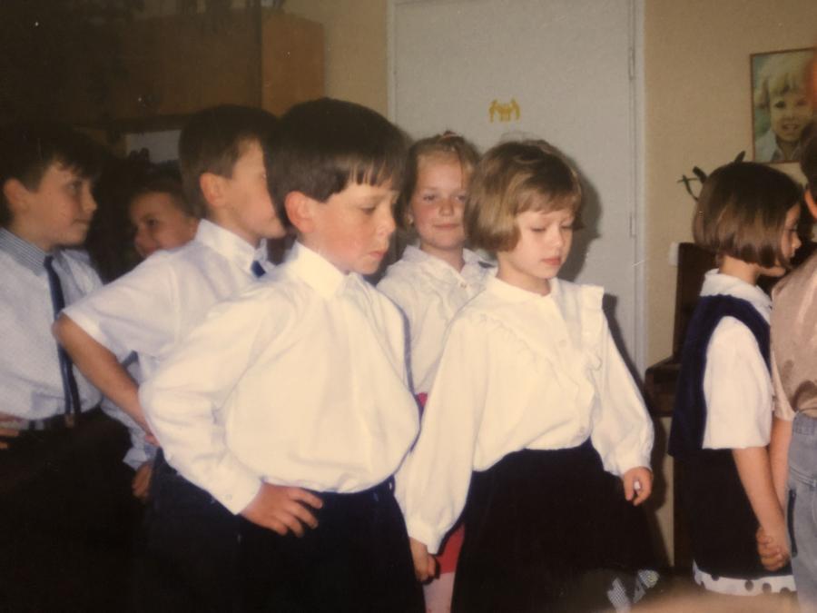 Kasia Dziurska w latach 90-tych