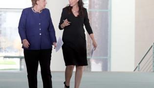 Jacinda Ardern i Angela Merkel