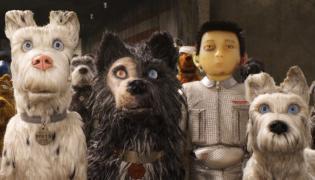 """Kadr z filmu """"Wyspa psów"""" - reż. Wes Anderson"""