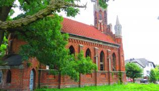 Były kościół w Izbicy Kujawskiej