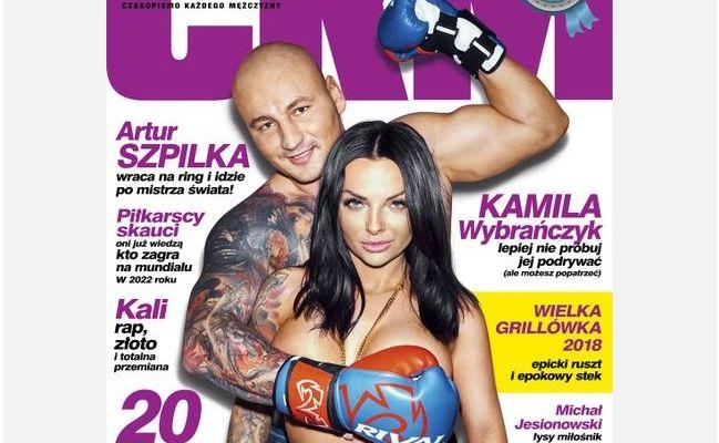 Artur Szpilka i Kamila Wybrańczyk