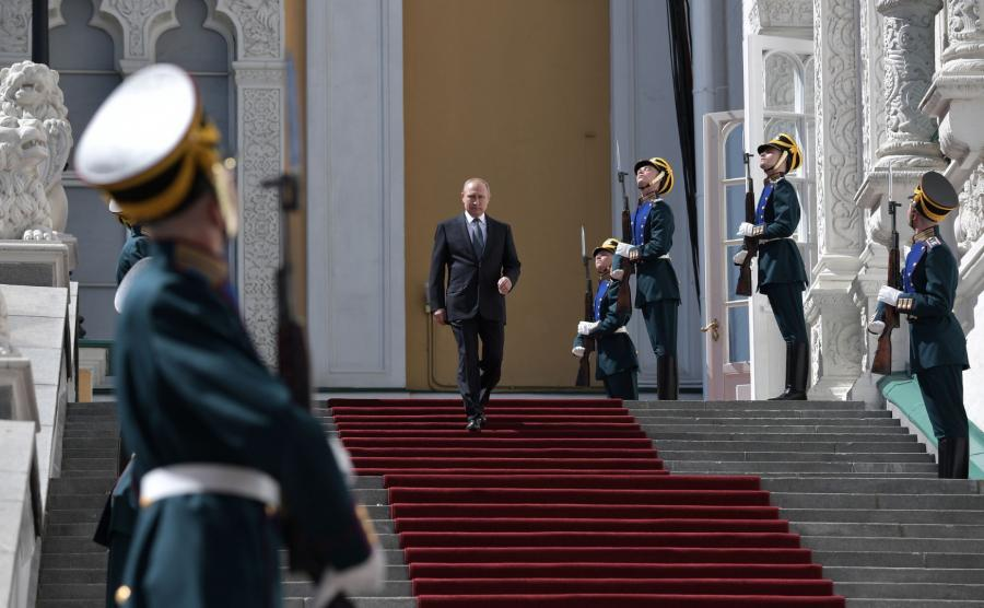 Rozpoczęcie IV kadencji Władimira Putina