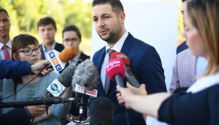 Wiceminister sprawiedliwości, kandydat PiS na prezydenta Warszawy Patryk Jaki