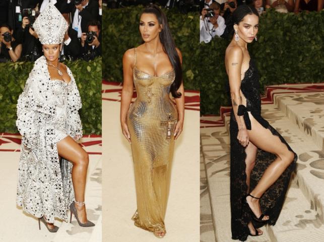 Rihanna, Kim Kardashian i Zoe Kravitz