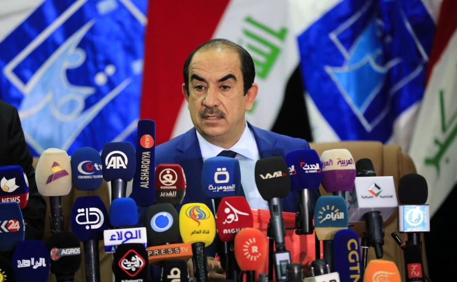 Riyadh Al-Badran, szef irackiej komisji wyborczej