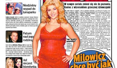 Kasia Cichopek zostanie grubą blondynką