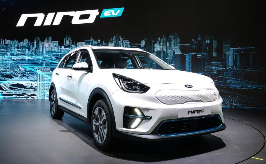 Kia Niro EV zadebiutowała podczas salonu samochodowego w koreańskim Busan