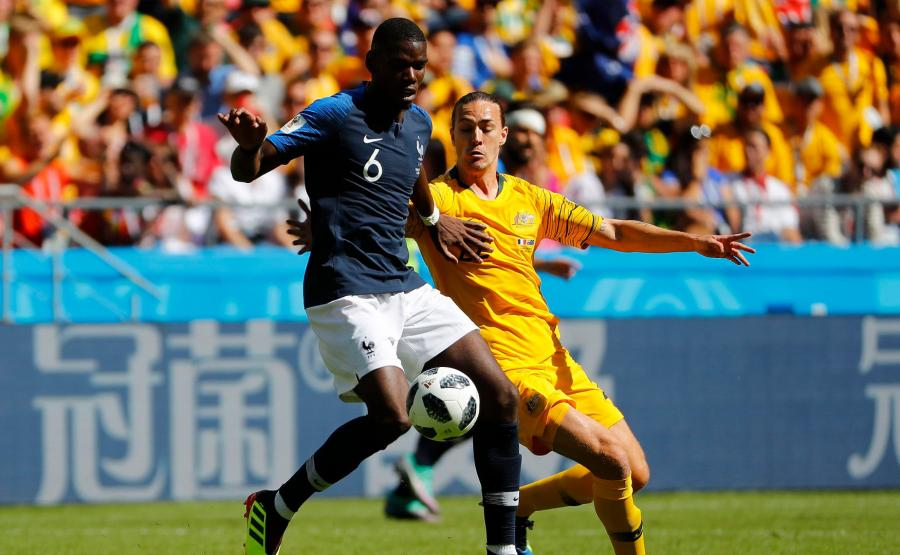 Francja kontra Australia