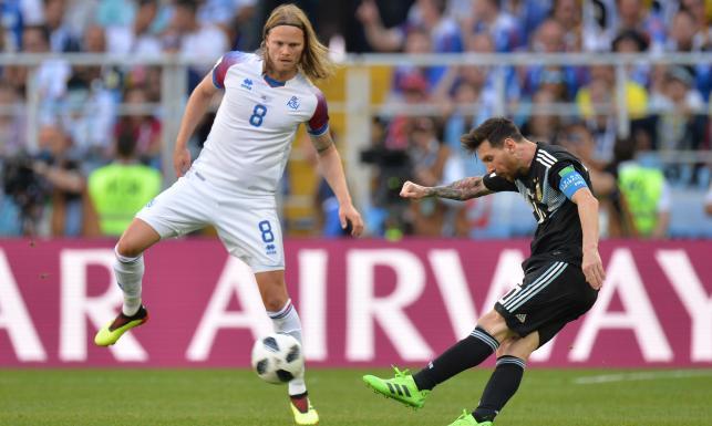 d16ca2fbb Messi poprosił tego Islandczyka o koszulkę. Ładny gest reprezentanta  Argentyny - Piłka nożna dziennik.pl