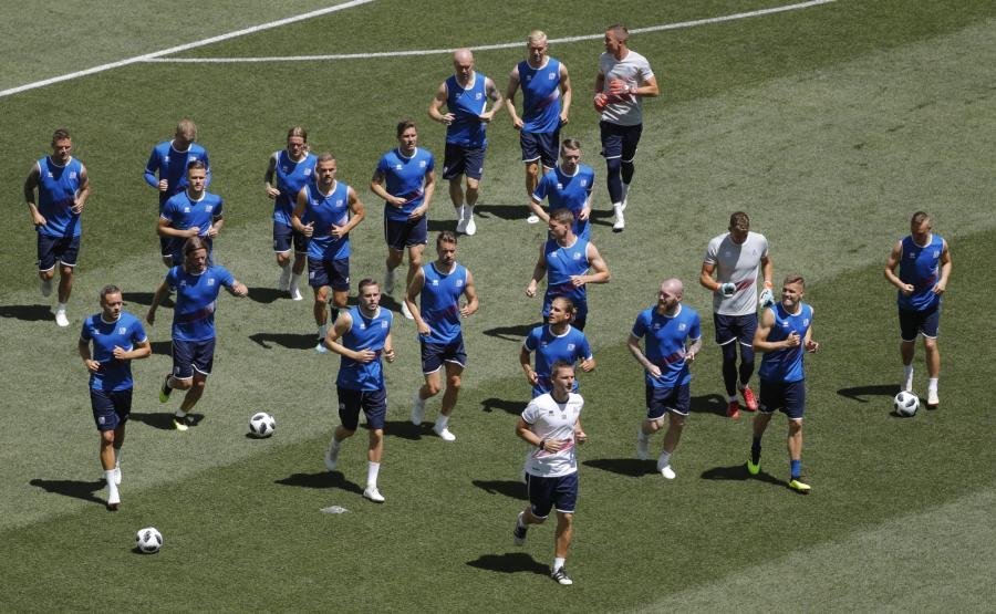 Piłkarze reprezentacji Islandii