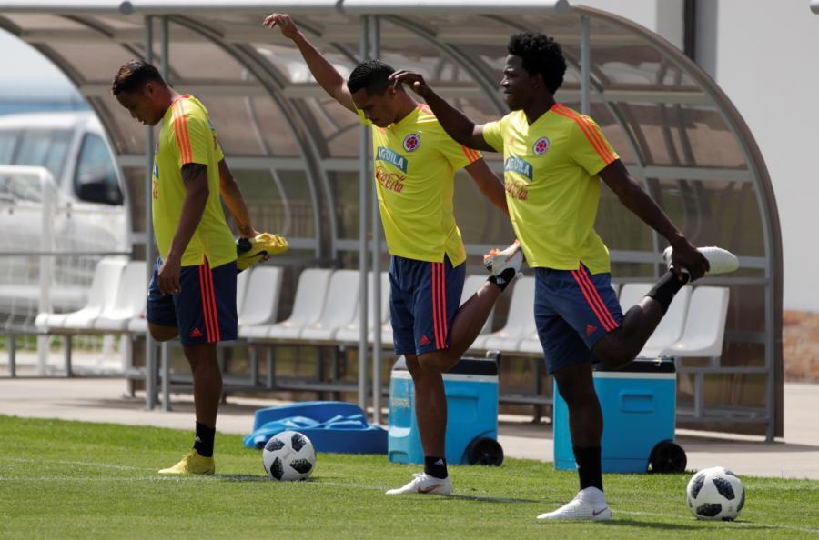 Luis Muriel, Carlos Bacca i Carlos Sanchez