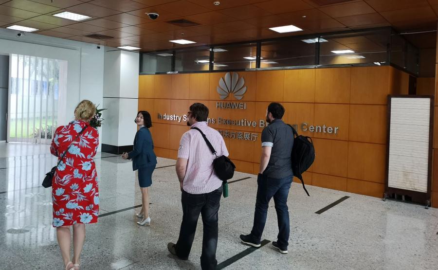 Siedziba Huaweia w Shenzen